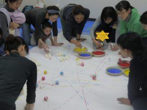 主宰されている会田夏帆さんに会いたくて。会田さんのアイディアの深さ、よく考えられたプログラムにため息をつく毎日です。