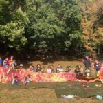 【出張ぐちゃぐちゃ遊び】お外でダイナミック絵の具遊び!「牛久保公園でぐちゃぐちゃ遊びをしよう!」