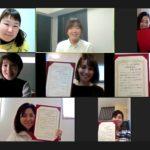 オンラインでぐちゃぐちゃ遊び認定講座を開講!6期生が卒業しました